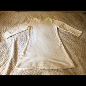 Zara Cream Sweater Dress